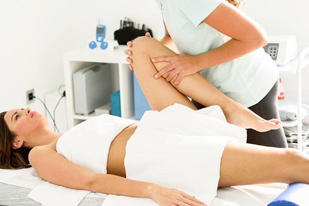 Fizioterapija - vežba za koleno