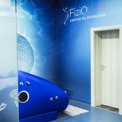 Hiperbarična komora u Fizioline Centru