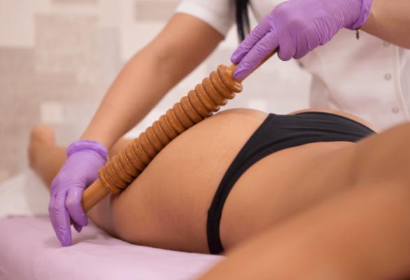 Maderoterapija tela, anticelulit masaža butine
